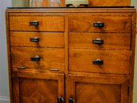 wood chest of drawers
