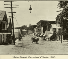 Main Street, Camden Village, 1905