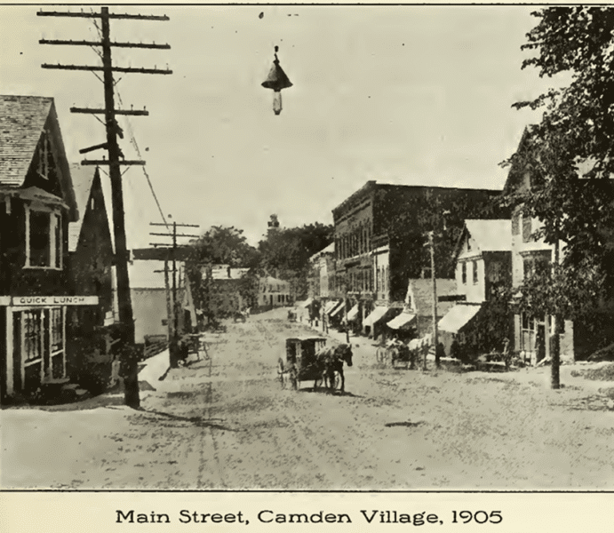 Main Street, Camden Village, 1905